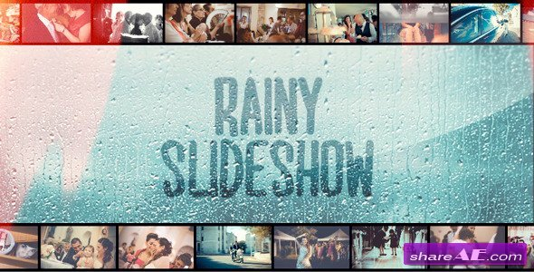 Free after Effects Slideshow Templates New Rainy Slideshow after Effects Project Videohive Free