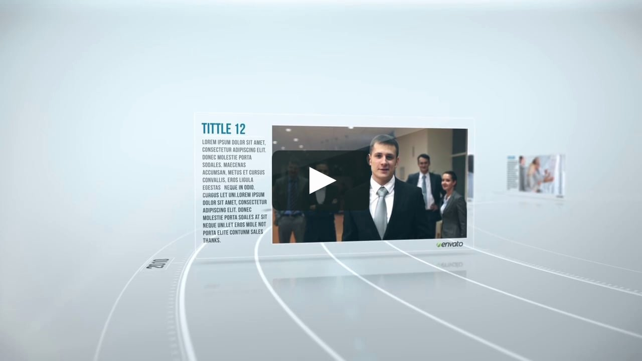 Free after Effects Slideshow Templates Unique Corporate Timeline Videohive after Effects Template On Vimeo