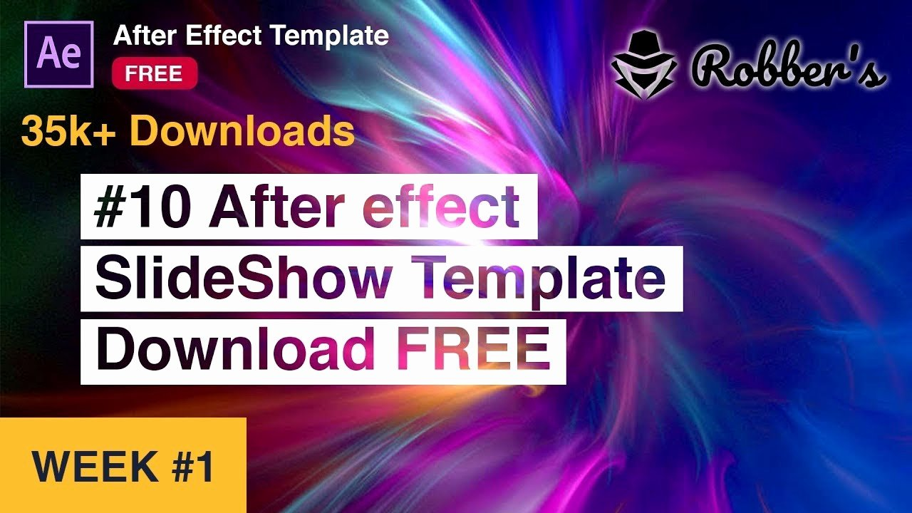 Free after Effects Slideshow Templates Unique Free after Effects Slideshow Templates