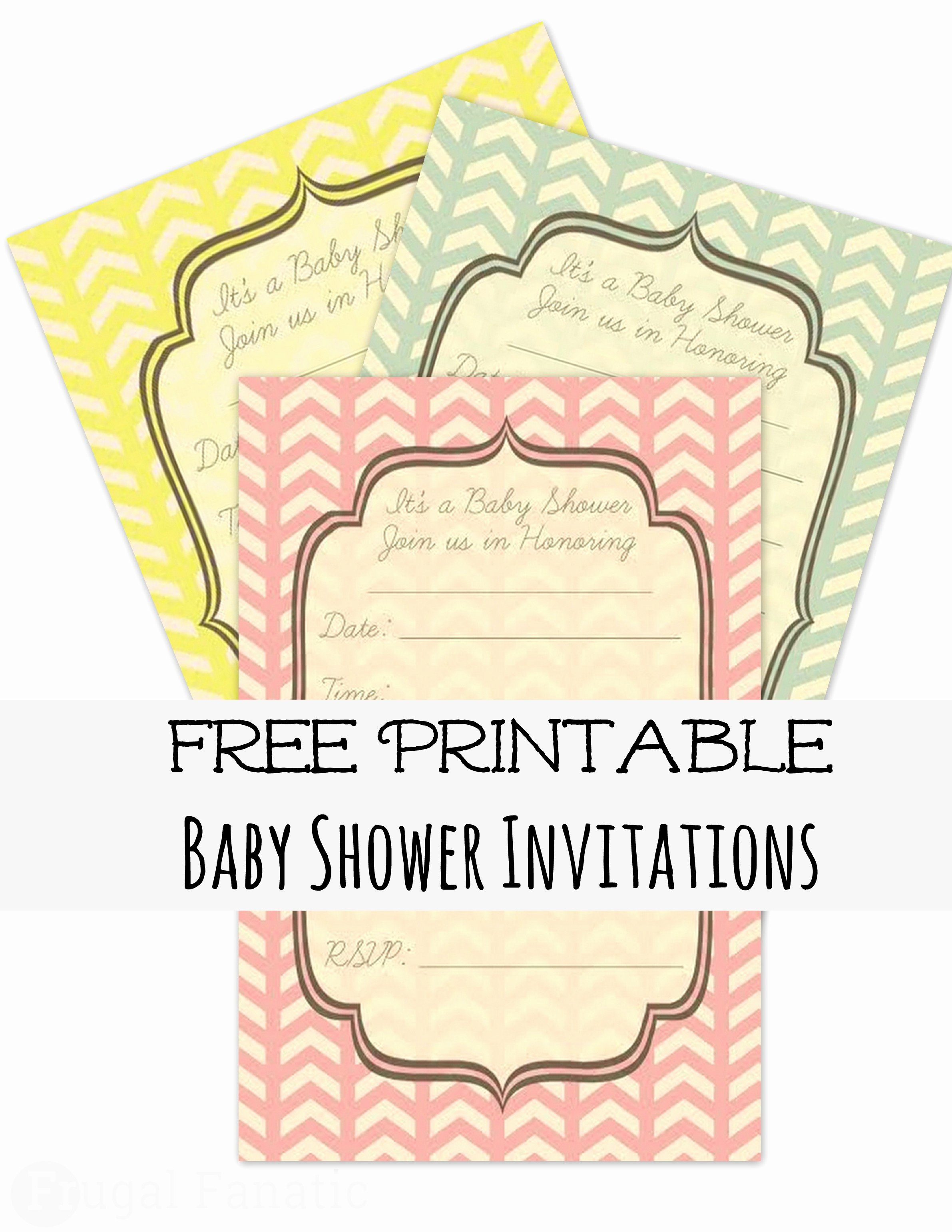 Free Baby Shower Invitation Templates Awesome Free Baby Shower Invites Frugal Fanatic