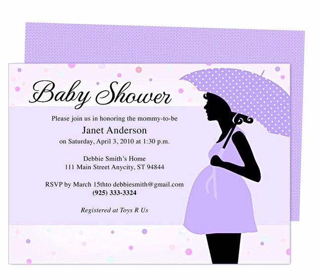 Free Baby Shower Invitation Templates Elegant Cute Maternity Baby Shower Invitation Template Edit