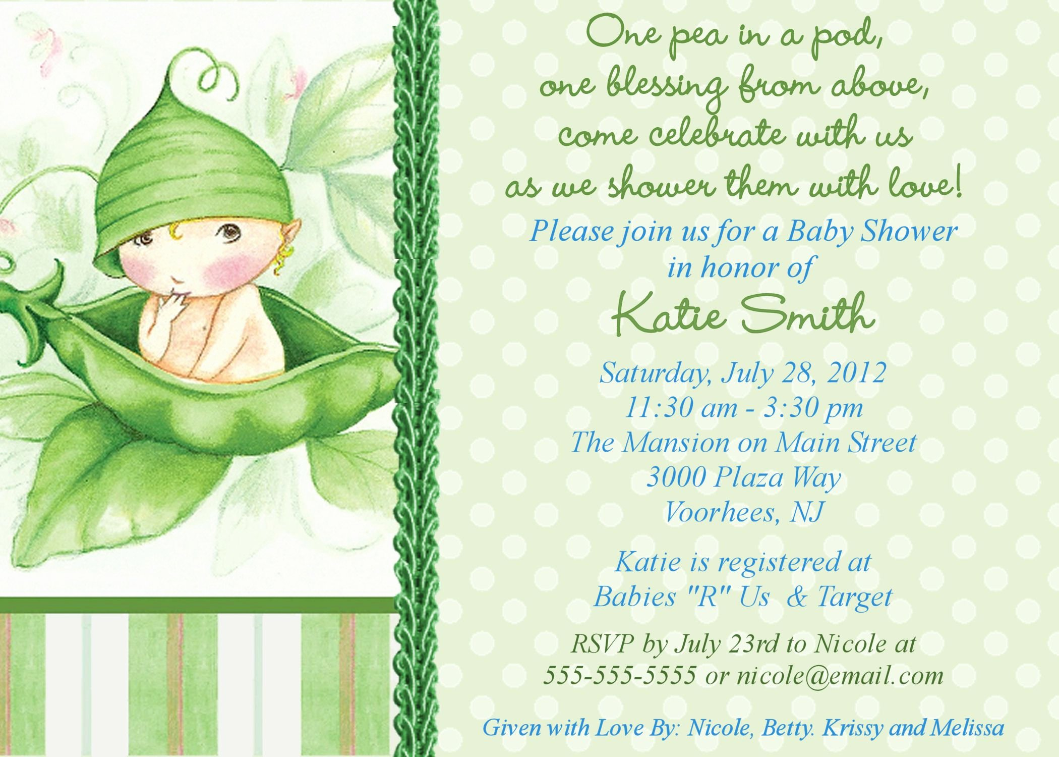 Free Baby Shower Invitation Templates Fresh Free Line Baby Shower Invitations