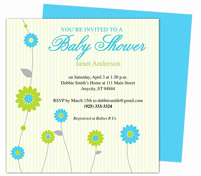 Free Baby Shower Invitation Templates Unique 42 Best Images About Baby Shower Invitation Templates On