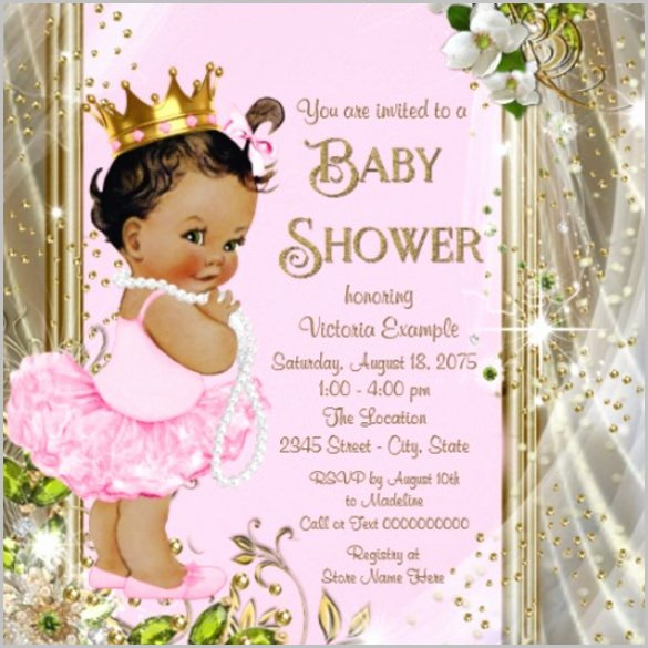 Free Baby Shower Templates Elegant Baby Shower Invitation Template 29 Free Psd Vector Eps
