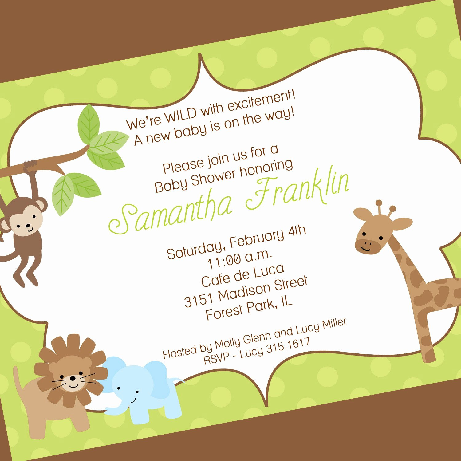 Free Baby Shower Templates Fresh Free Baby Shower Invitation Templates Free Baby Shower
