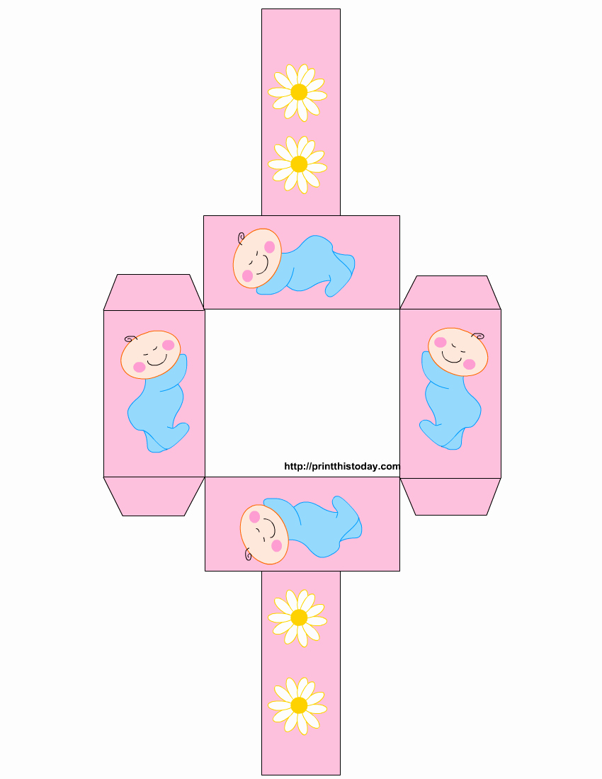 Free Baby Shower Templates Luxury Free Printable Baby Shower Favor Baskets