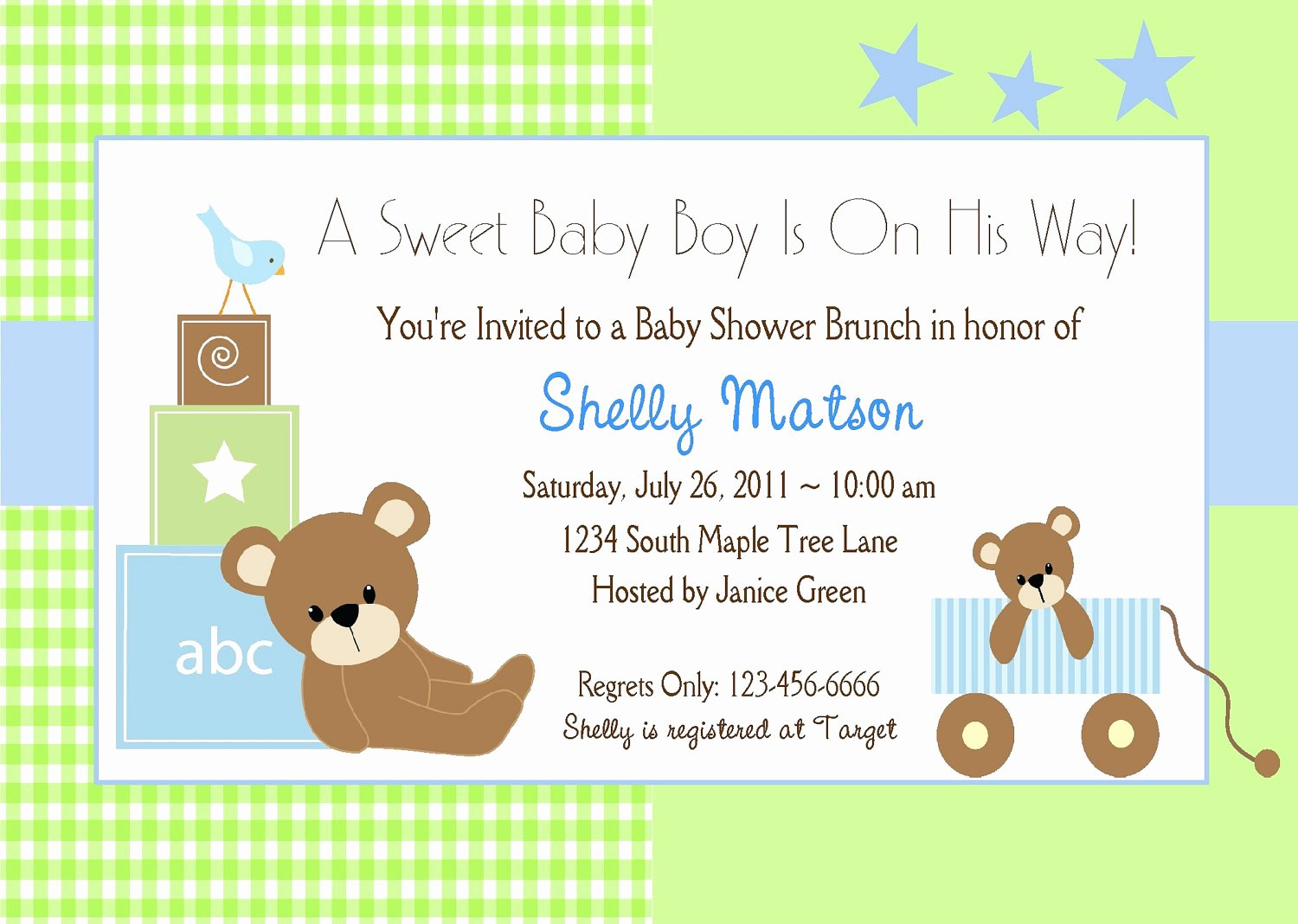 Free Baby Shower Templates Unique Free Baby Boy Shower Invitations Templates Baby Boy