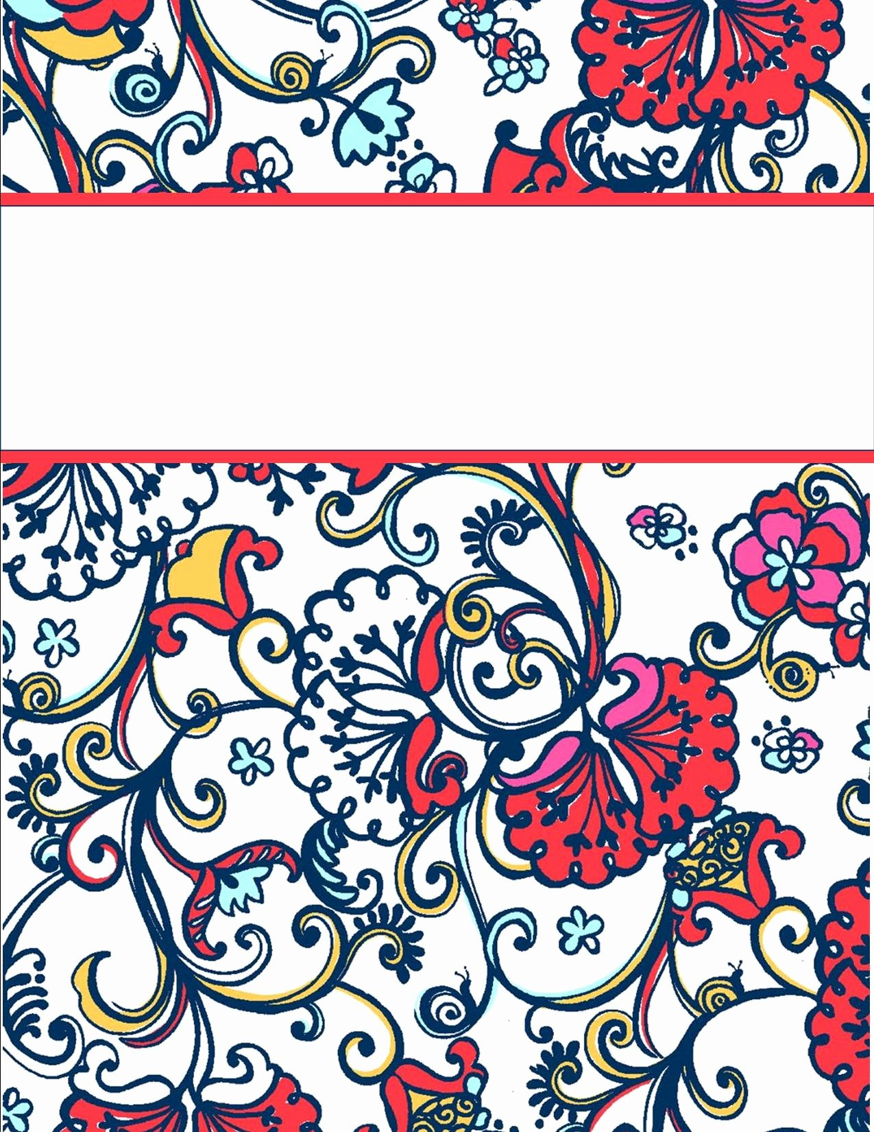 Free Binder Cover Templates Best Of My Cute Binder Covers