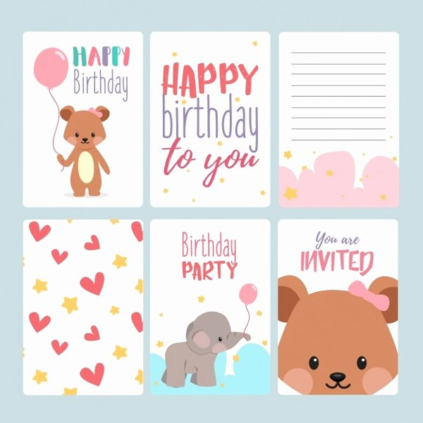 Free Birthday Card Templates Best Of 17 Birthday Card Templates Free Psd Eps Document