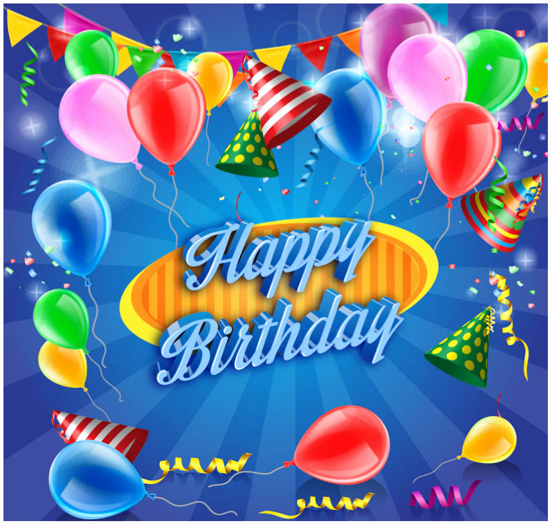 Free Birthday Card Templates New 10 Free Vector Psd Birthday Celebration Greeting Cards