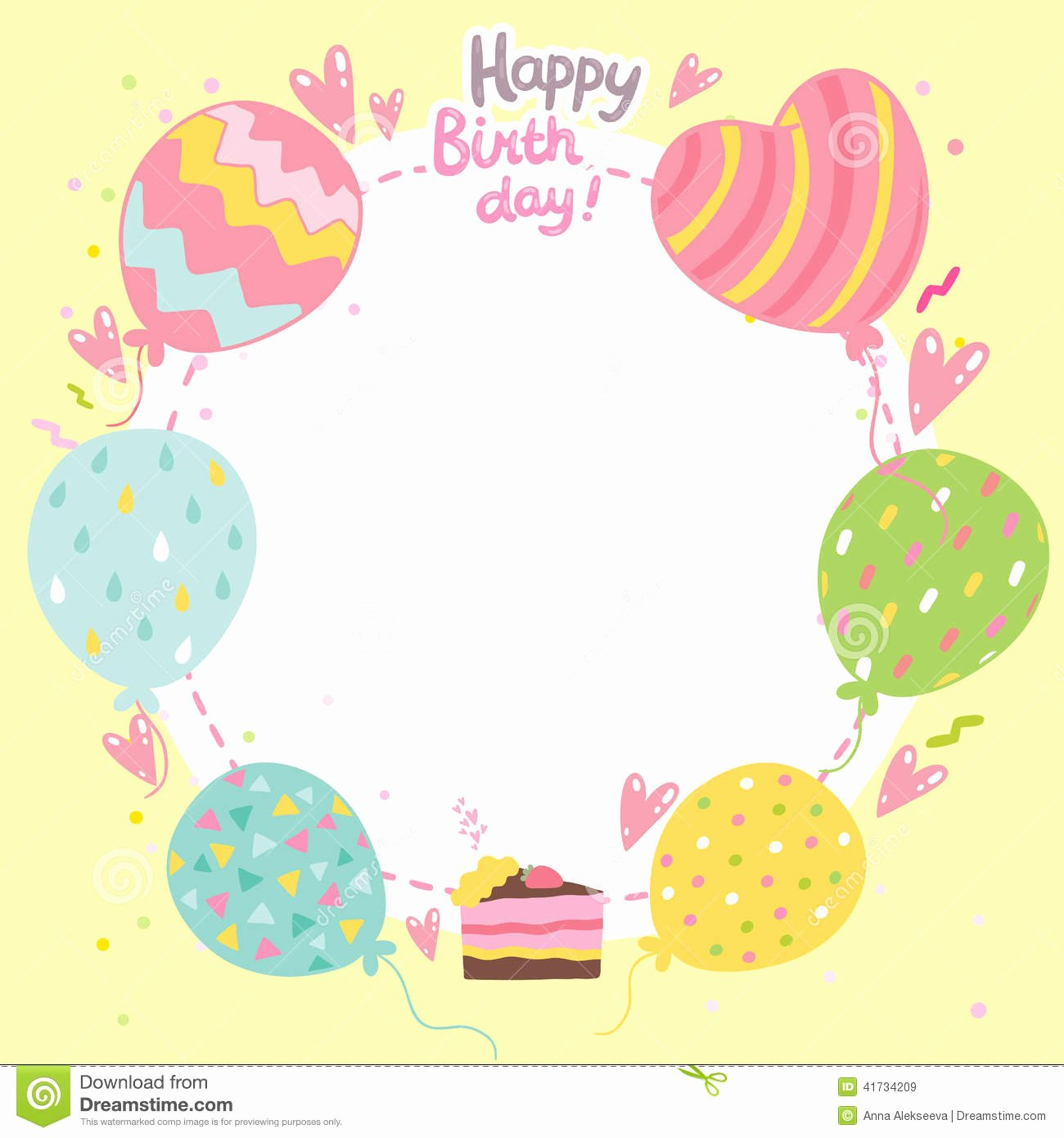 Free Birthday Card Templates New Birthday Card Template