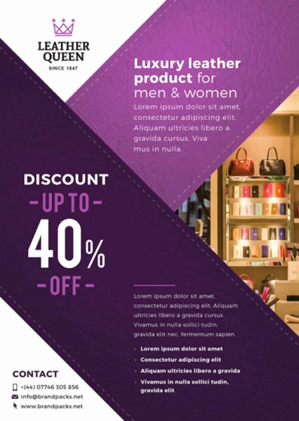 Free Business Flyer Templates Awesome Free Business Shop Poster Template Download for Shop