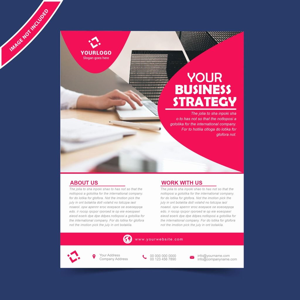 Free Business Flyer Templates Fresh Flyer Brochure Design Template Free Download Wisxi