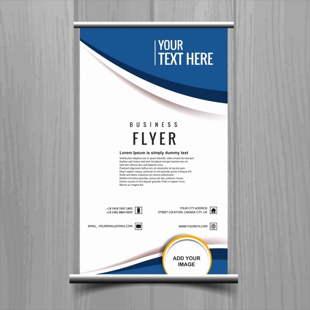 Free Business Flyer Templates Inspirational Business Flyer Template Vector