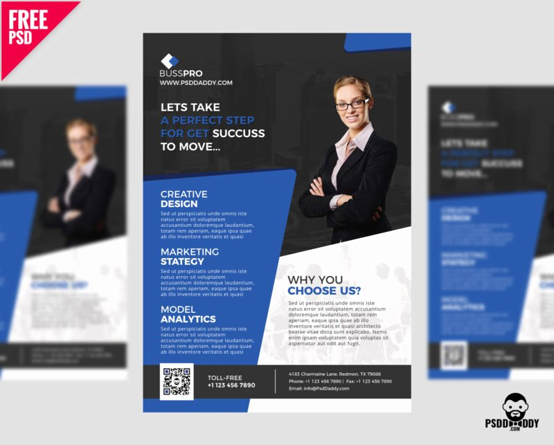 Free Business Flyer Templates Luxury [download] Business Flyer Template Free Psd