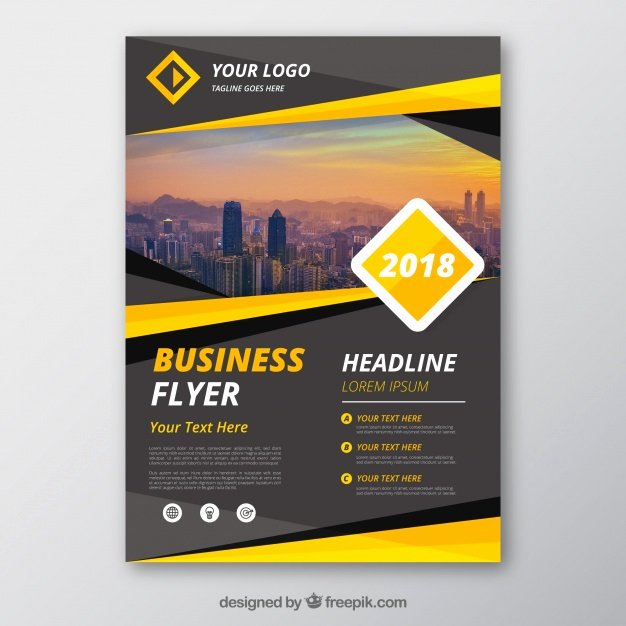 Free Business Flyer Templates Luxury Flyer Vectors S and Psd Files