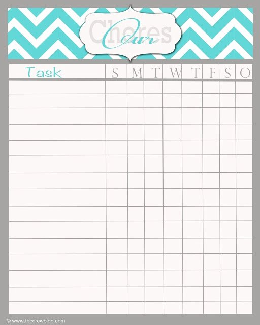 Free Chore Chart Template Fresh Best 25 Weekly Chore Charts Ideas On Pinterest