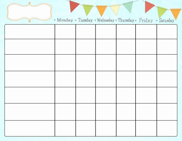 Free Chore Chart Template Unique Free Printable Chore Charts for Kids