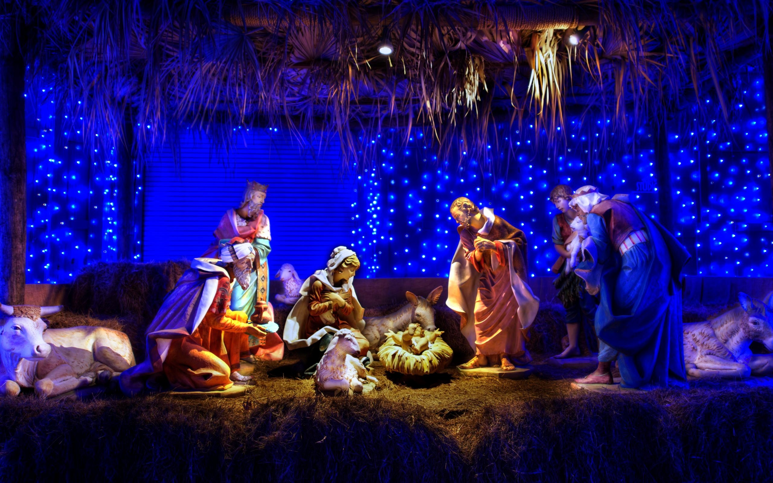 Free Christmas Desktop Wallpaper Awesome Christmas Nativity Scene Wallpaper ·① Download Free Hd