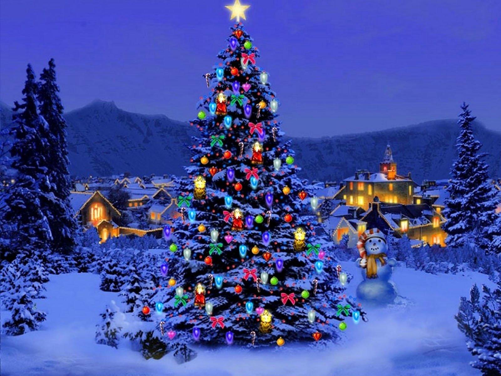 Free Christmas Desktop Wallpaper Fresh Wallpapers Christmas Trees Wallpapers