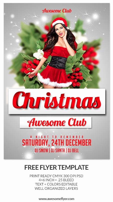 Free Christmas Flyer Templates Beautiful 10 Best Free Christmas Flyer Templates thedesignblitz