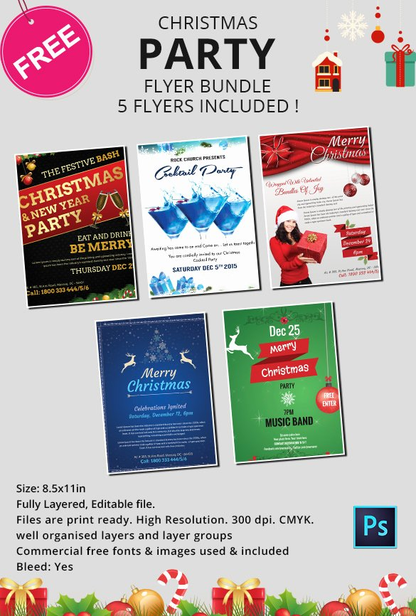 Free Christmas Flyer Templates Beautiful 1110 Christmas Templates