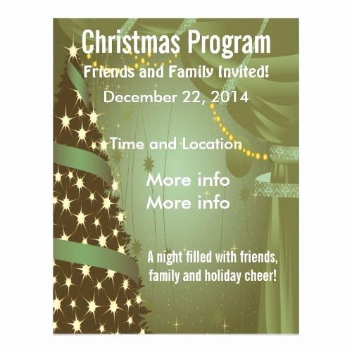 Free Christmas Flyer Templates Beautiful Christmas Flyers Templates Free