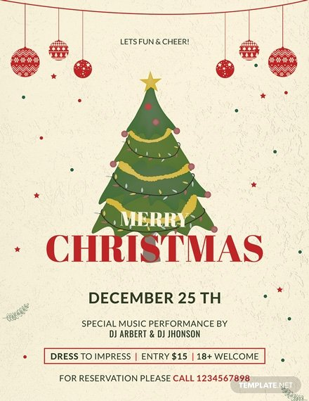Free Christmas Flyer Templates Elegant 34 Free Christmas Flyer Templates Word Psd