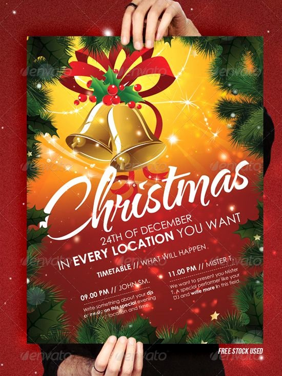 Free Christmas Flyer Templates Elegant Christmas Brochure Templates Free