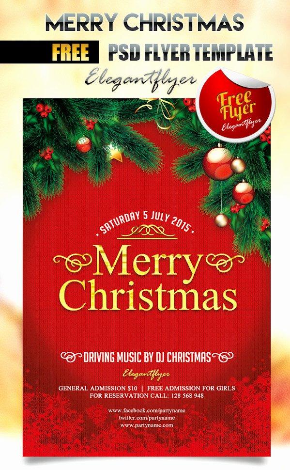Free Christmas Flyer Templates Inspirational 25 Best Free Christmas Flyer Templates Dzineflip