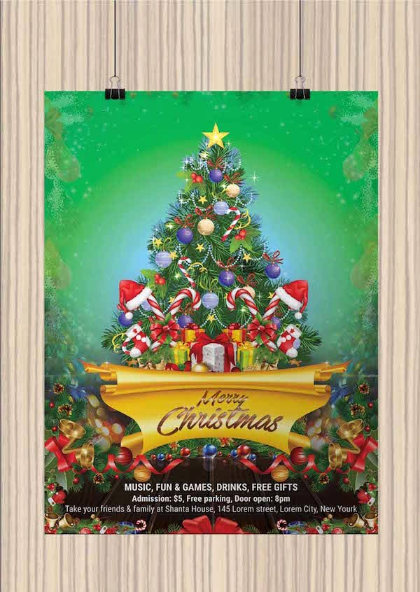 Free Christmas Flyer Templates New 25 Best Free Christmas Flyer Templates Dzineflip