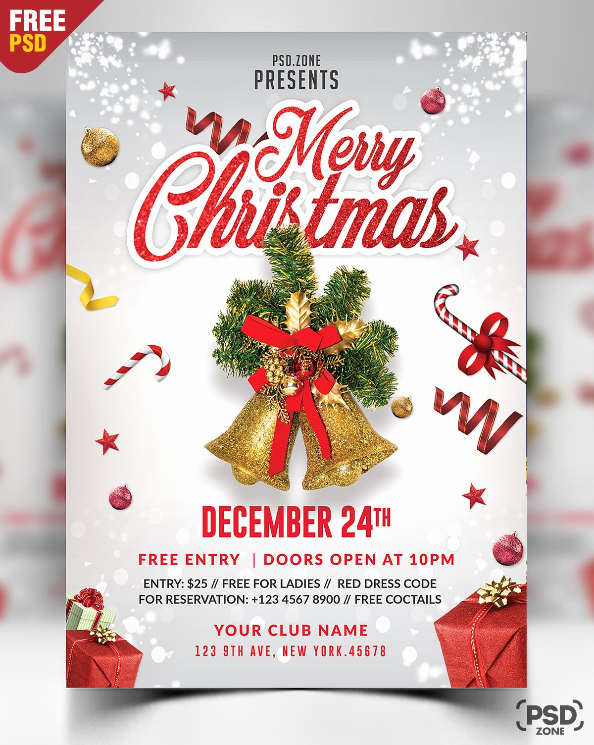 Free Christmas Flyer Templates Unique 160 Free Christmas Design Downloads Perfect for Your