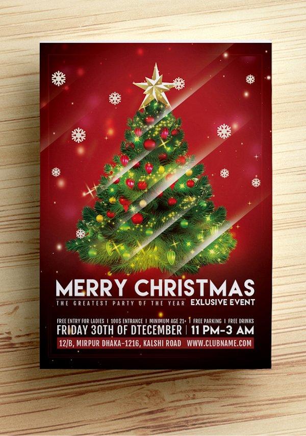 Free Christmas Flyer Templates Unique 25 Best Free Christmas Flyer Templates Dzineflip
