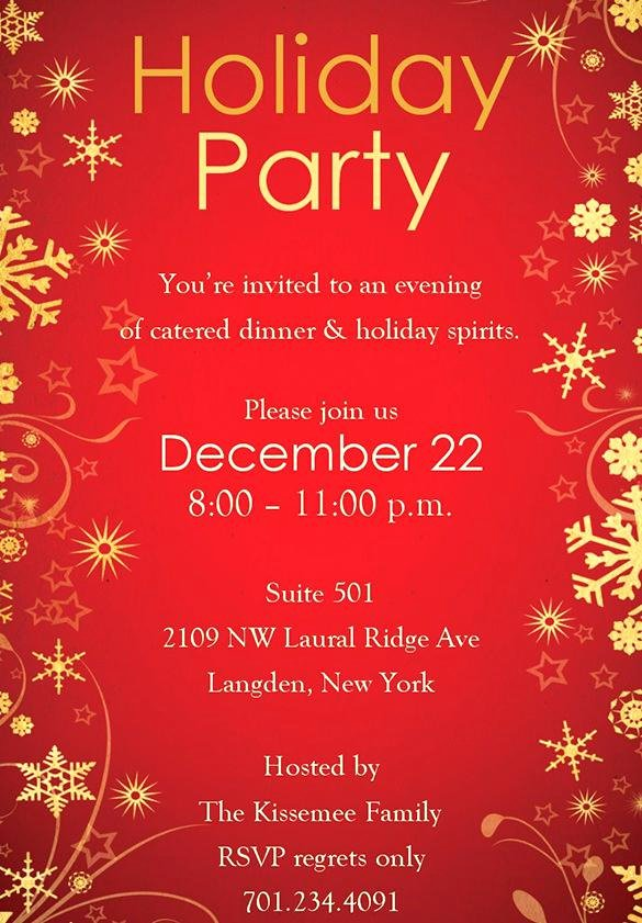 Free Christmas Party Invitations Template Beautiful Christmas Party Invitations Templates