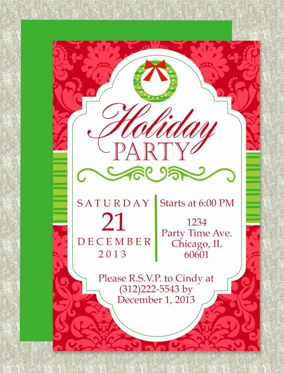 Free Christmas Party Invitations Template Beautiful Christmas Party Microsoft Word Invitation Template