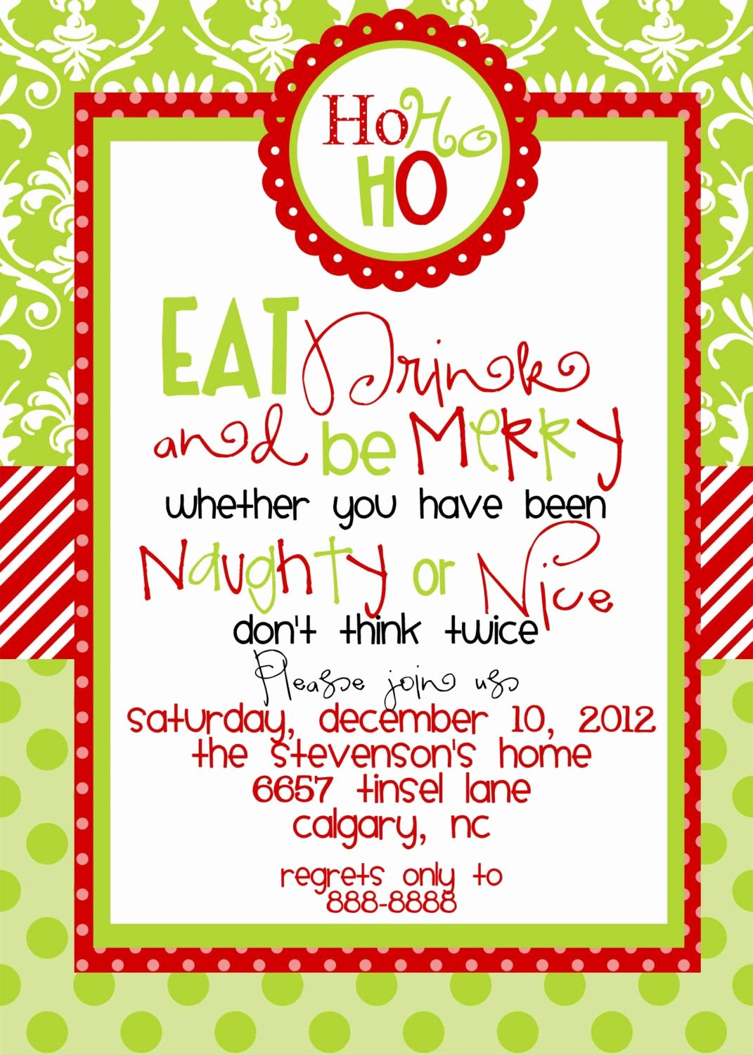 Free Christmas Party Invitations Template Elegant Christmas Party Invitations Templates Free Printables