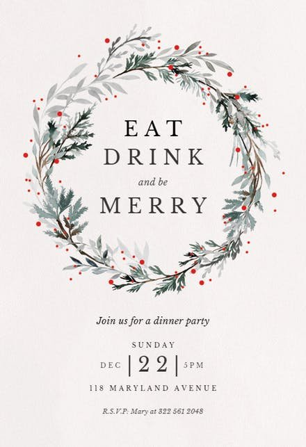 Free Christmas Party Invitations Template Lovely Christmas Party Invitation Templates Free