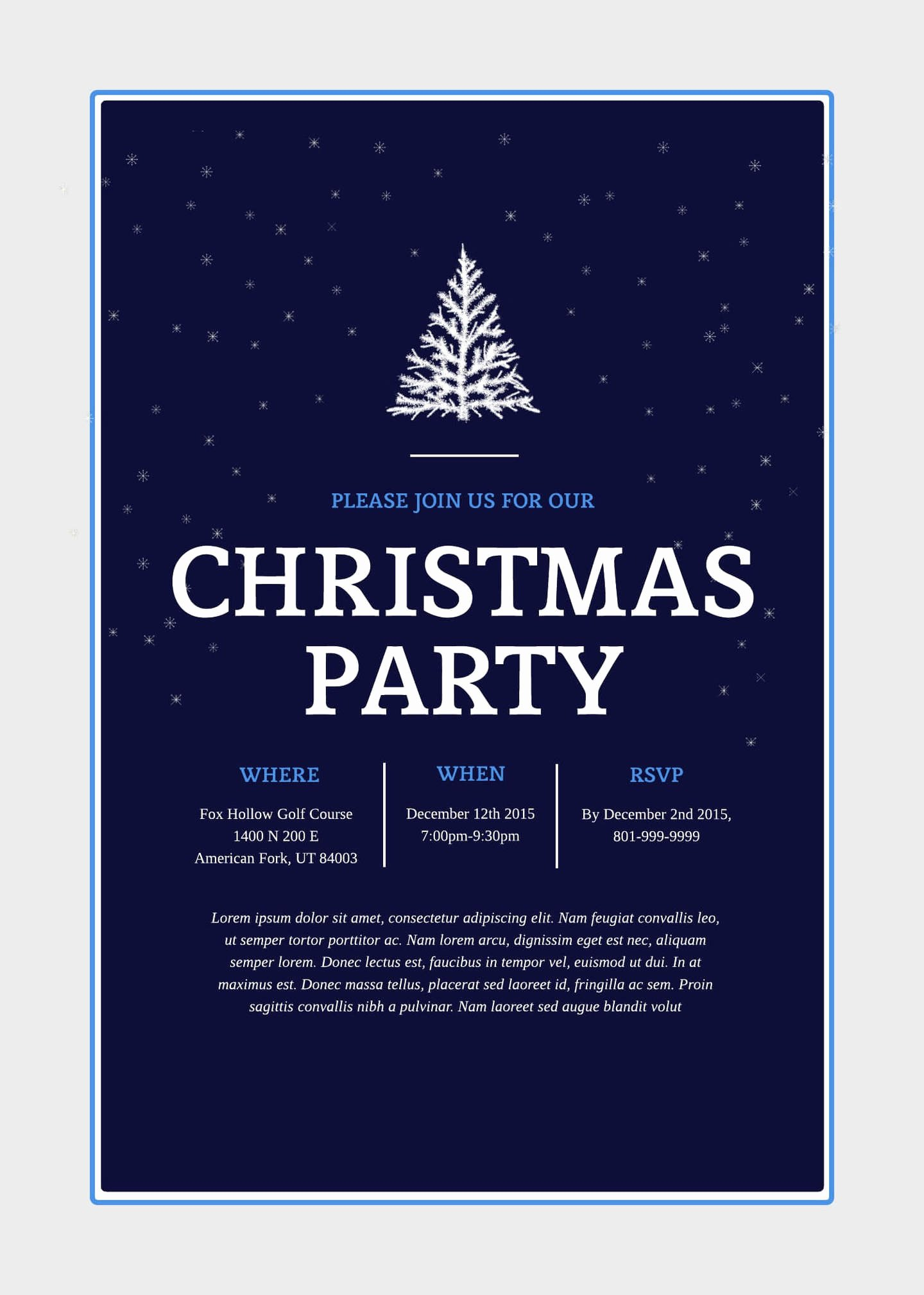 Free Christmas Party Invitations Template Luxury Print and Win Holiday Sweepstakes
