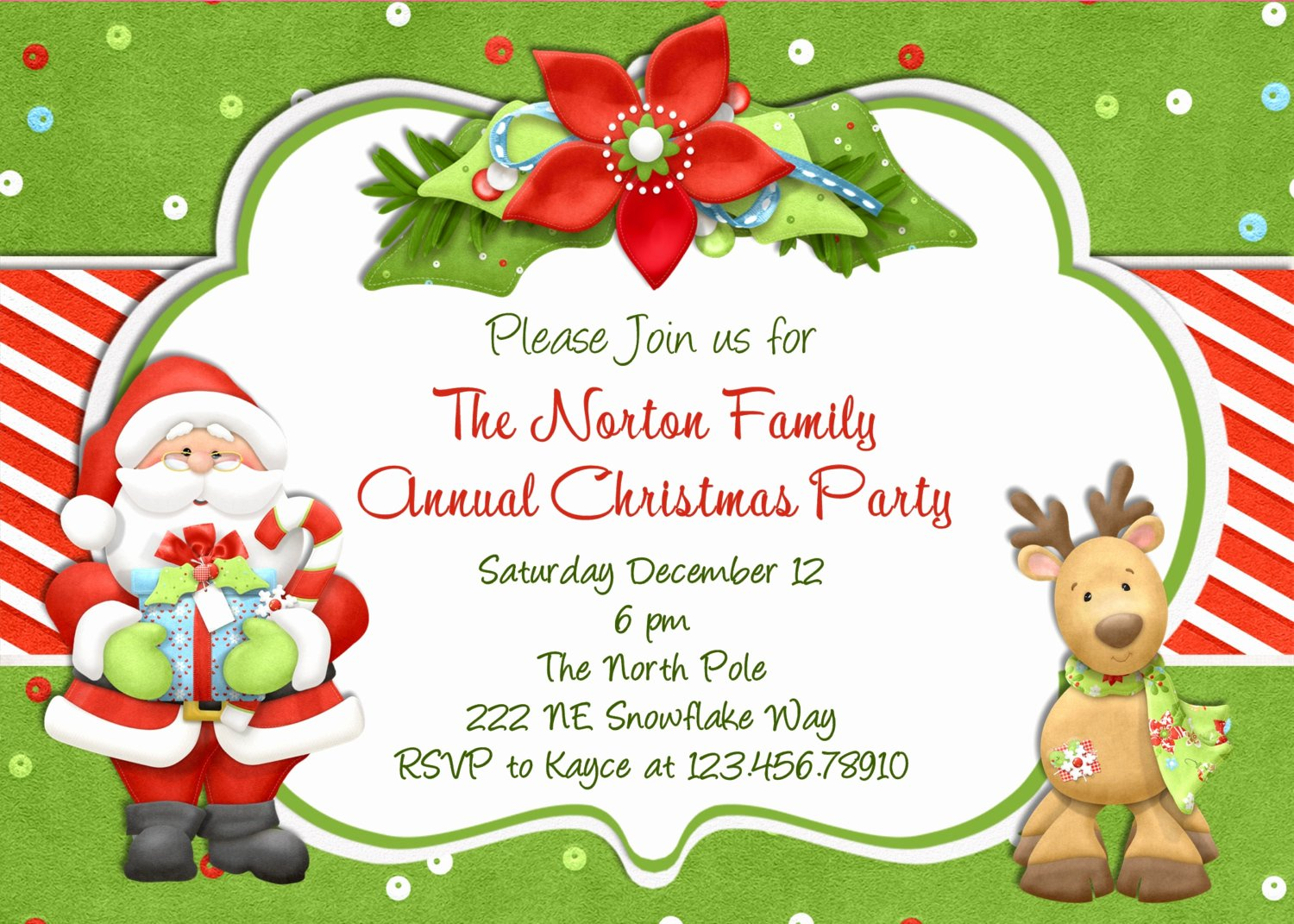 Free Christmas Party Invitations Template New Christmas Party Invitation Christmas Holiday Party