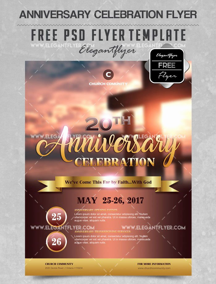 Free Church Flyer Templates Beautiful 34 Free Psd Church Flyer Templates In Psd for Special