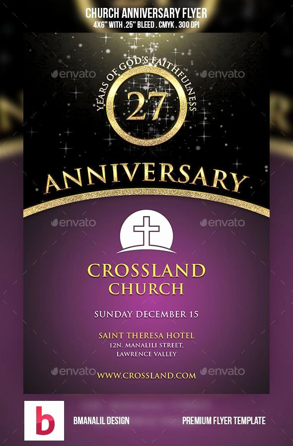 Free Church Flyer Templates Best Of Church Anniversary Flyer Flyers