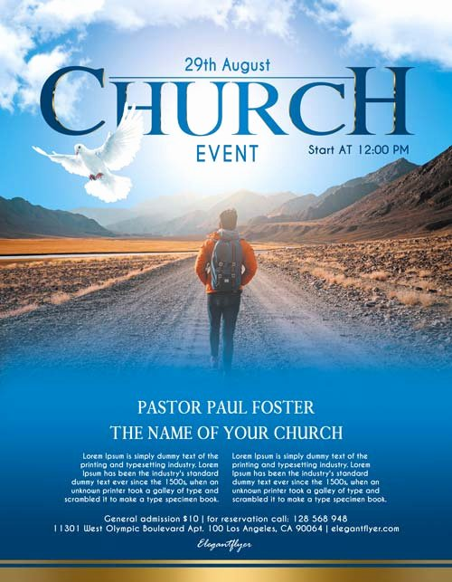 Free Church Flyer Templates Best Of Free Church event Free Flyer Psd Template Download