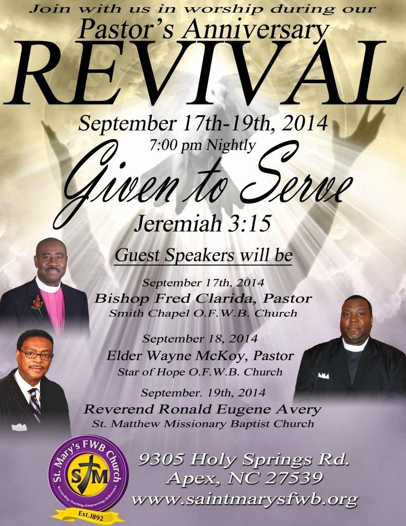Free Church Flyer Templates Inspirational Church Revival Flyers Revival Flyer
