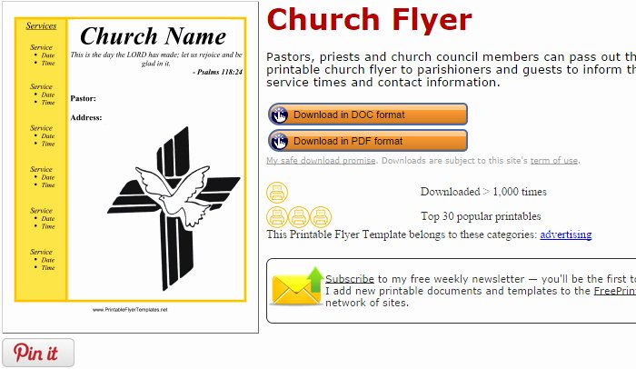 Free Church Flyer Templates Lovely 5 Free Church Flyer Templates