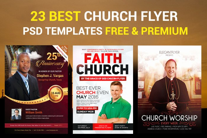 Free Church Flyer Templates Unique 23 Church Flyer Psd Templates Free & Premium Designyep