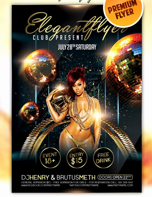 Free Club Flyer Templates Elegant 43 Club Flyer Templates Psd Rtf Pdf format Download
