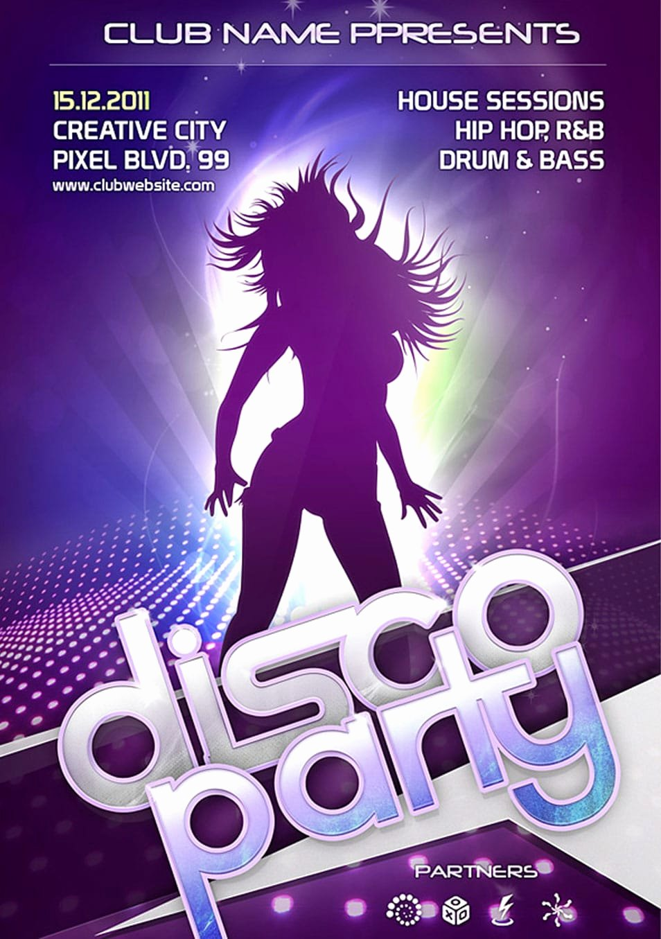 Free Club Flyer Templates Elegant 60 Best Free Flyer Templates Psd
