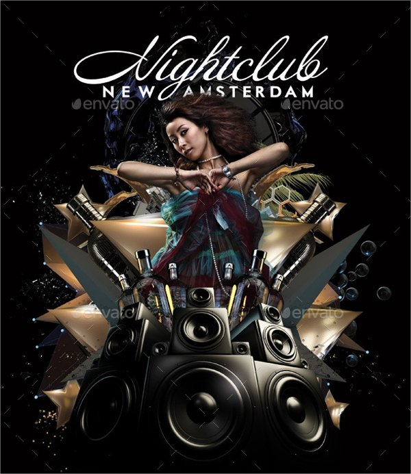 Free Club Flyer Templates Inspirational 26 Club Flyer Templates Vector Eps Psd