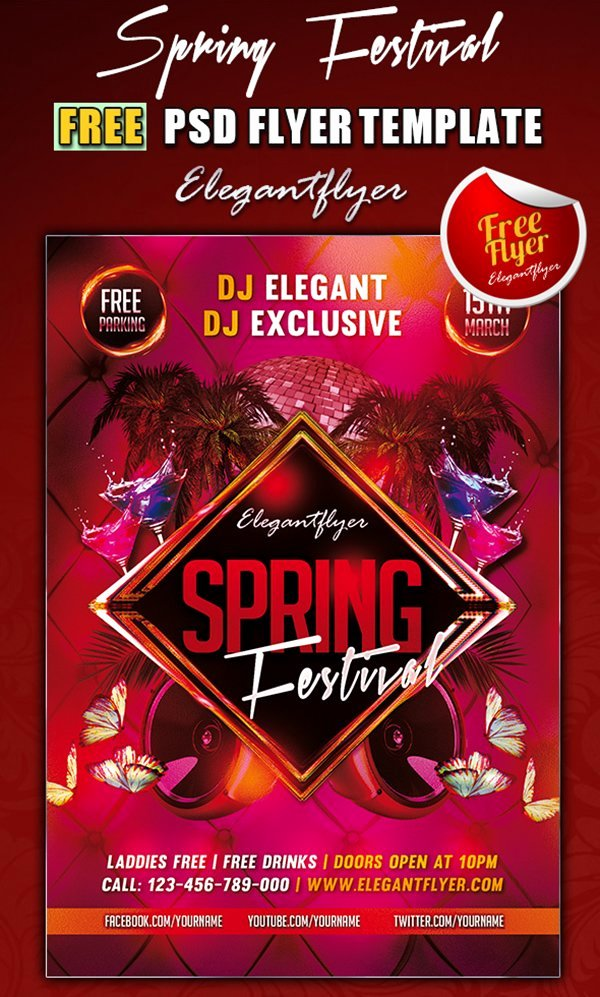 Free Club Flyer Templates Luxury 31 Free Psd Party & Club Flyer Templates March 2015 Edition