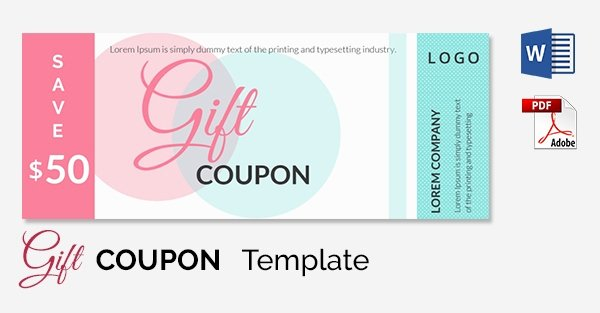 Free Coupon Template Word Elegant Blank Coupon Templates – 26 Free Psd Word Eps Jpeg